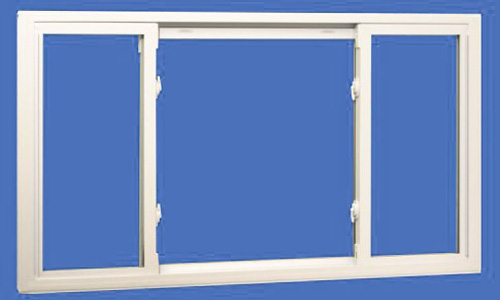 Three Lite Slider Window